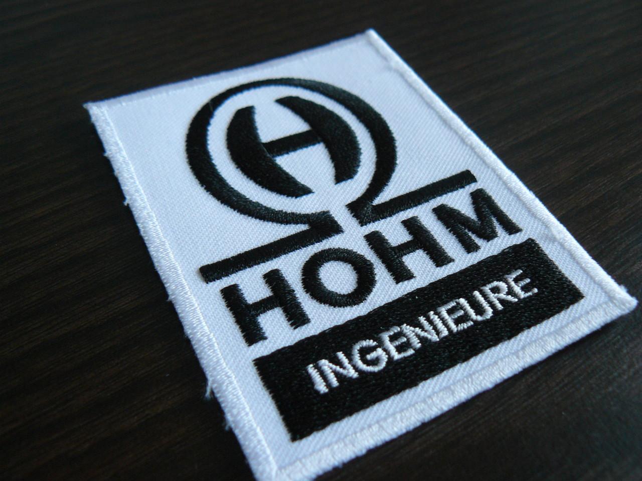 Hohm - Aufnäher