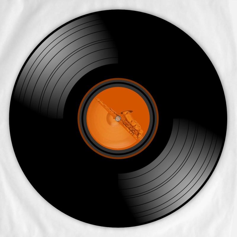 Inkscape - Vinyl Schallplatte