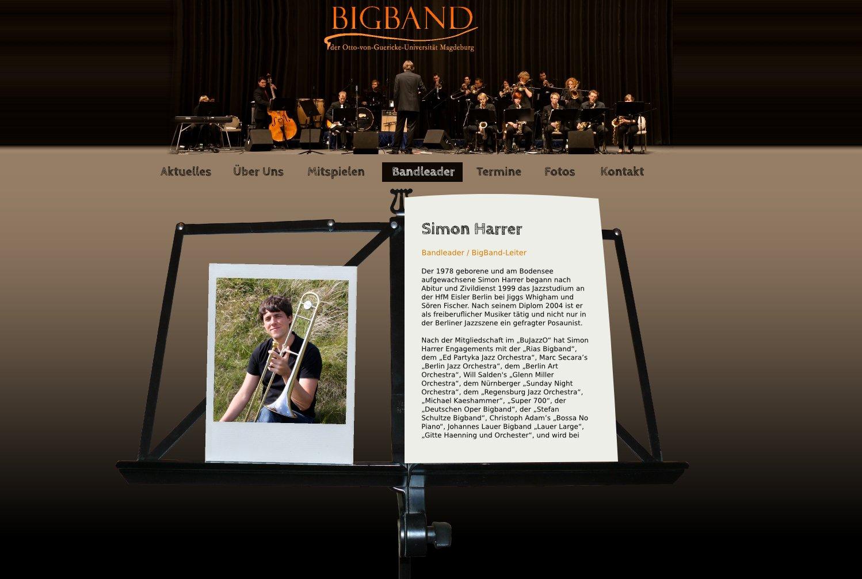 Referenz OvG BigBand – Bandleaderr