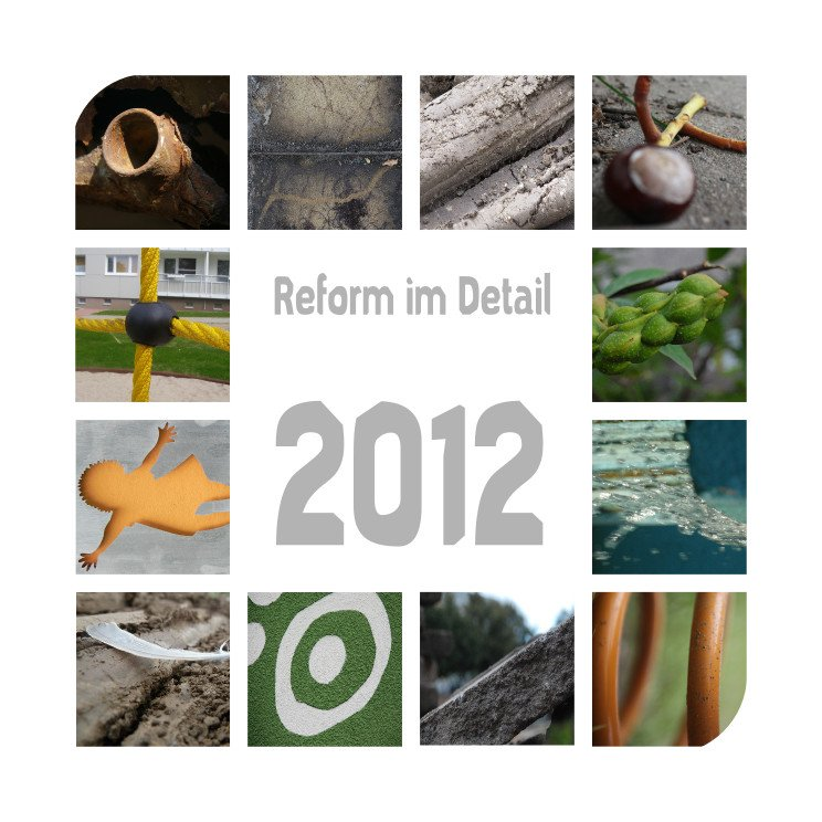 Reform Kalender - Deckblatt