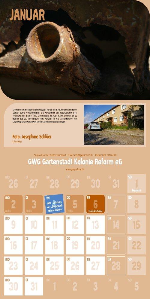 Reform Kalender - Januar