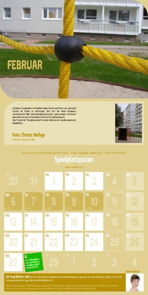 Reform Kalender - Februar