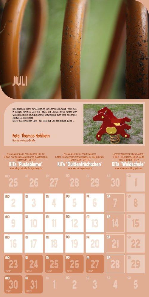 Reform Kalender - Juli