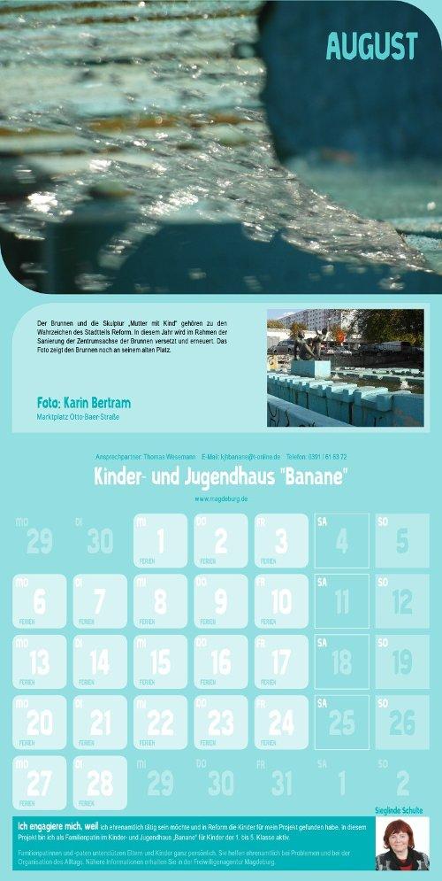 Reform Kalender - August
