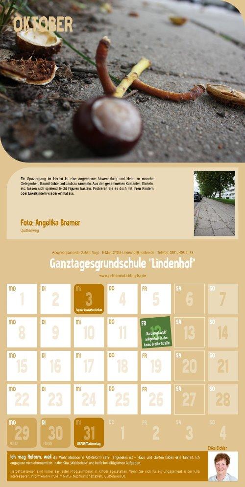 Reform Kalender - Oktober