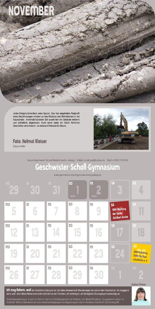 Reform Kalender - November