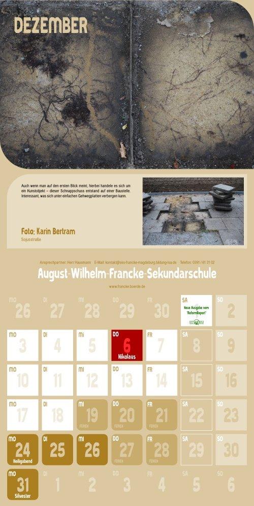 Reform Kalender - Dezember