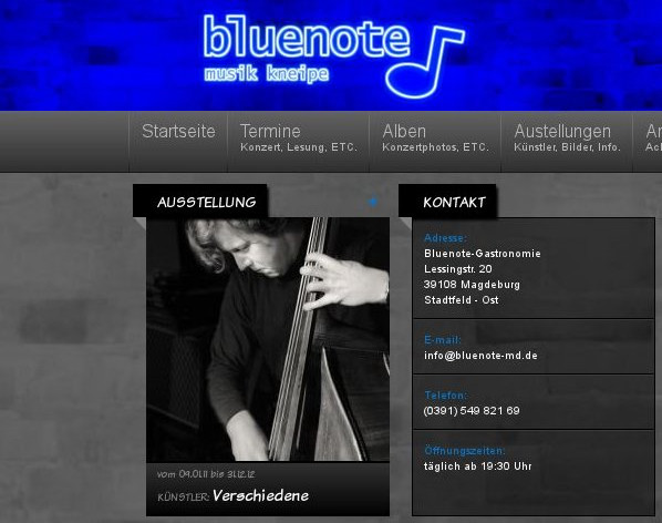 Screenshot - Musik Kneipe Bluenote