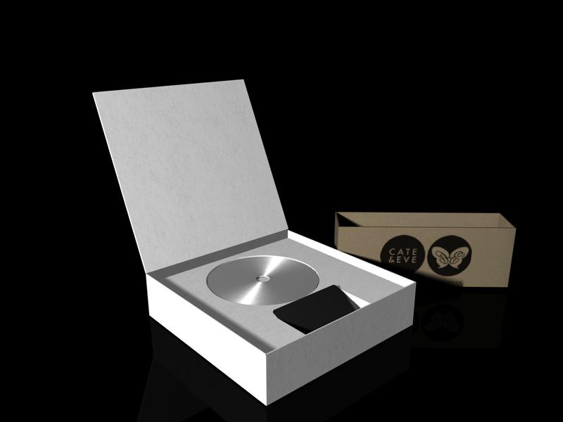 3D-Grafik - CD-Verpackung