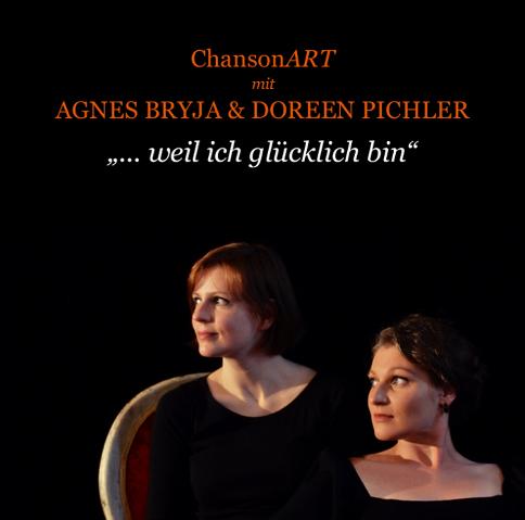 CD-Cover – ChansonART Agnes & Doreen