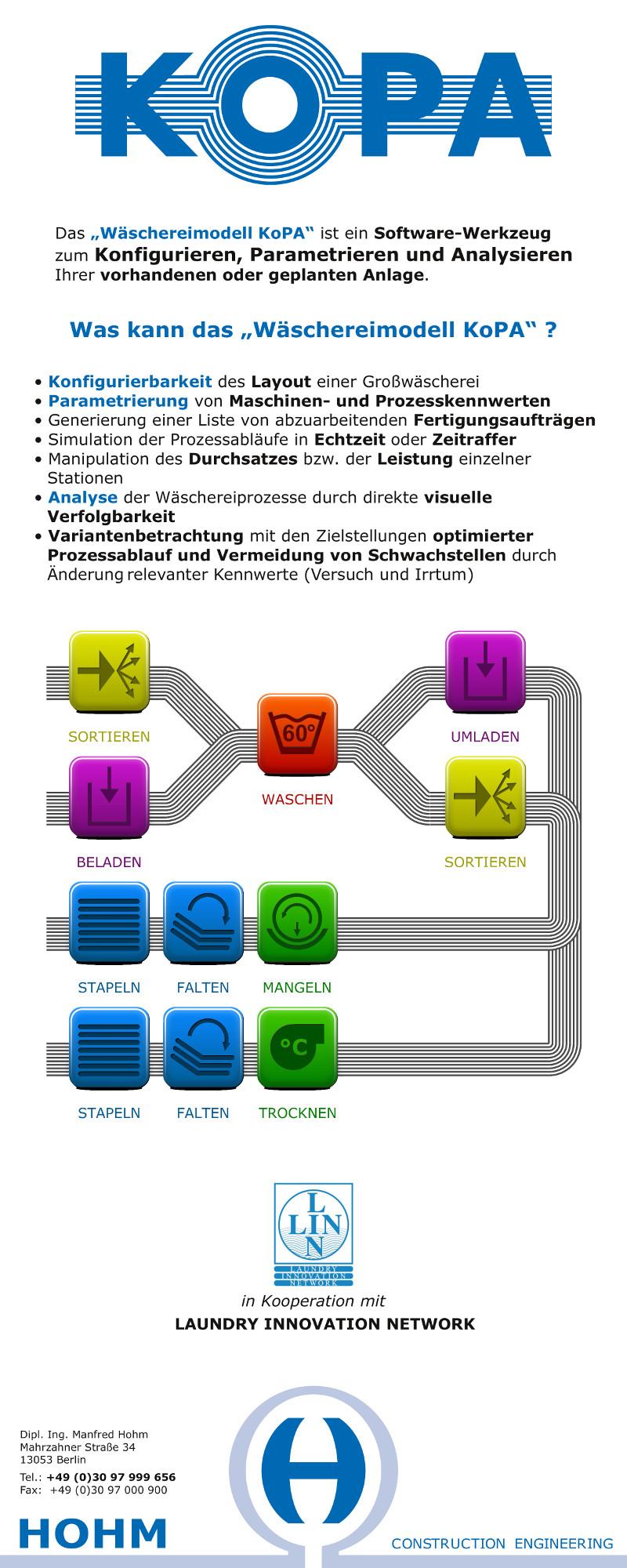 KoPA Rollup - Inkscape Icons und Prozesslinien des Wäschereimodell
