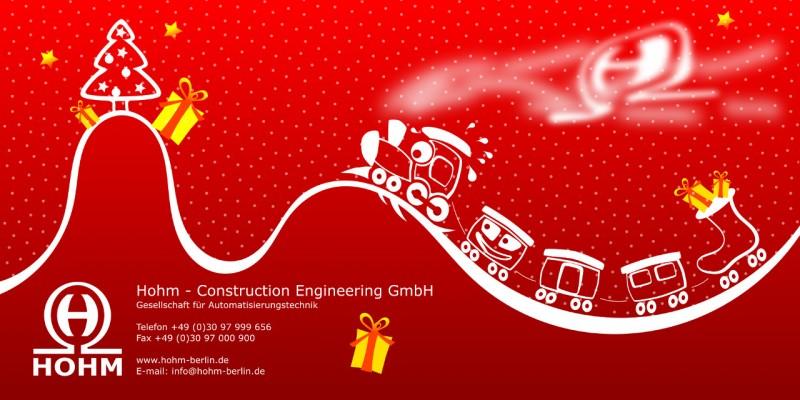 Weihnachtskarte - Vektorzeichnung Inkscape