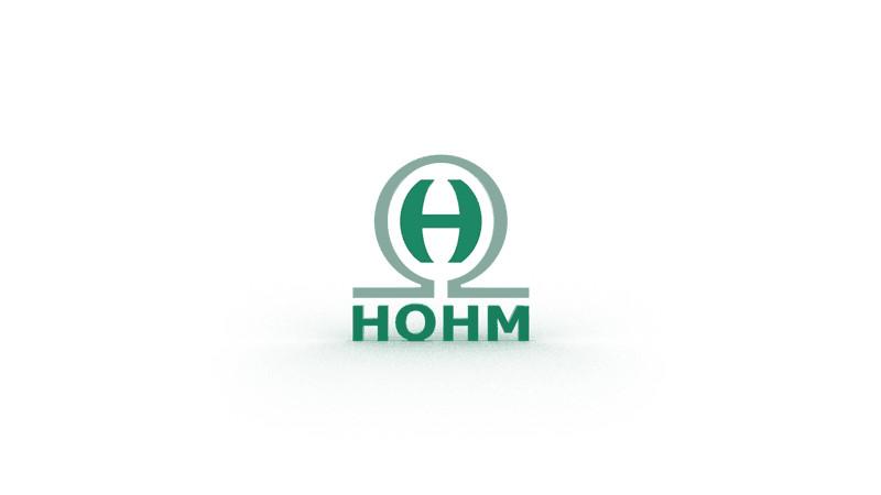 3D-Grafik - HOHM Logo