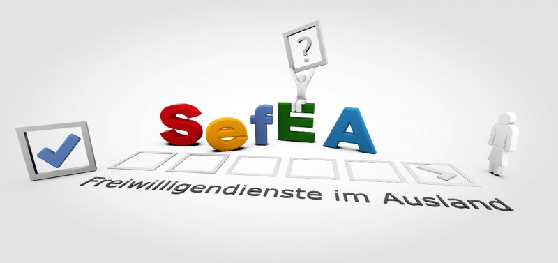 3D-Grafik Blender Buchstaben - SefEA Flyer
