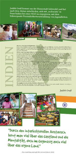 Scribus Roll-Up - Indien