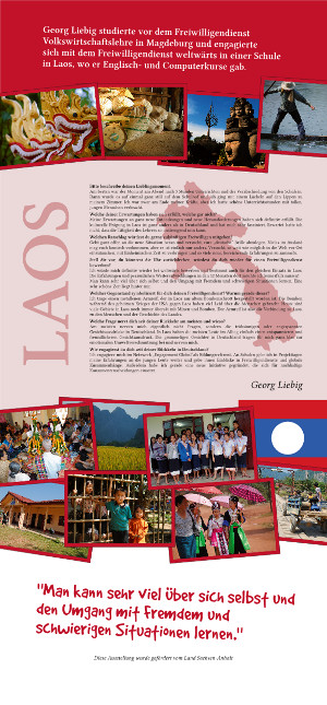 Scribus Roll-Up - Laos