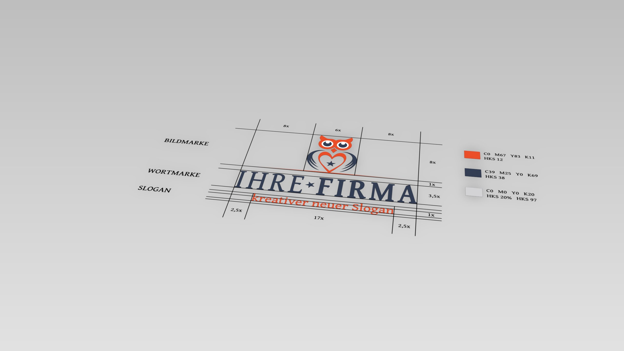 3D-Grafik Blender - Logo-Entwicklung