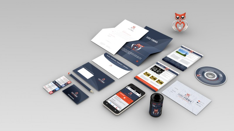 Blender3D-Grafik - Corporate Design