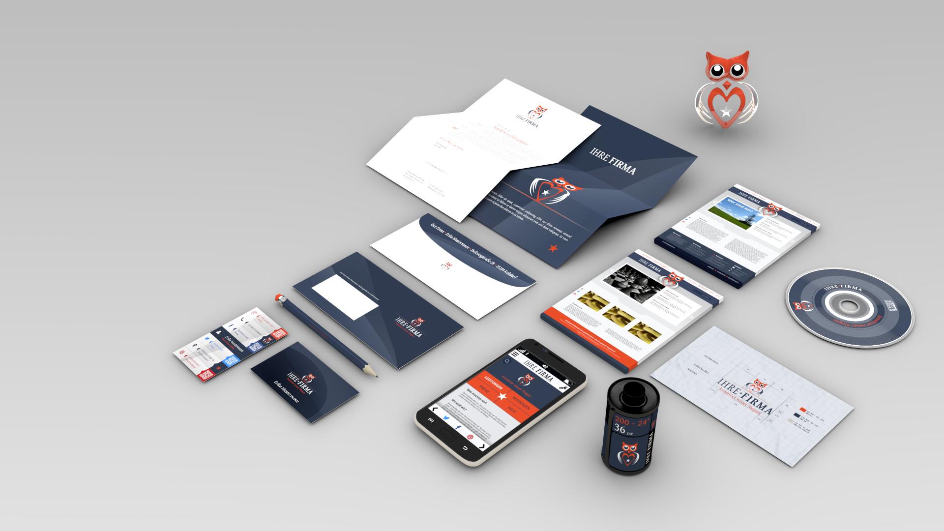 Blender3D-Grafik - Corporate Design
