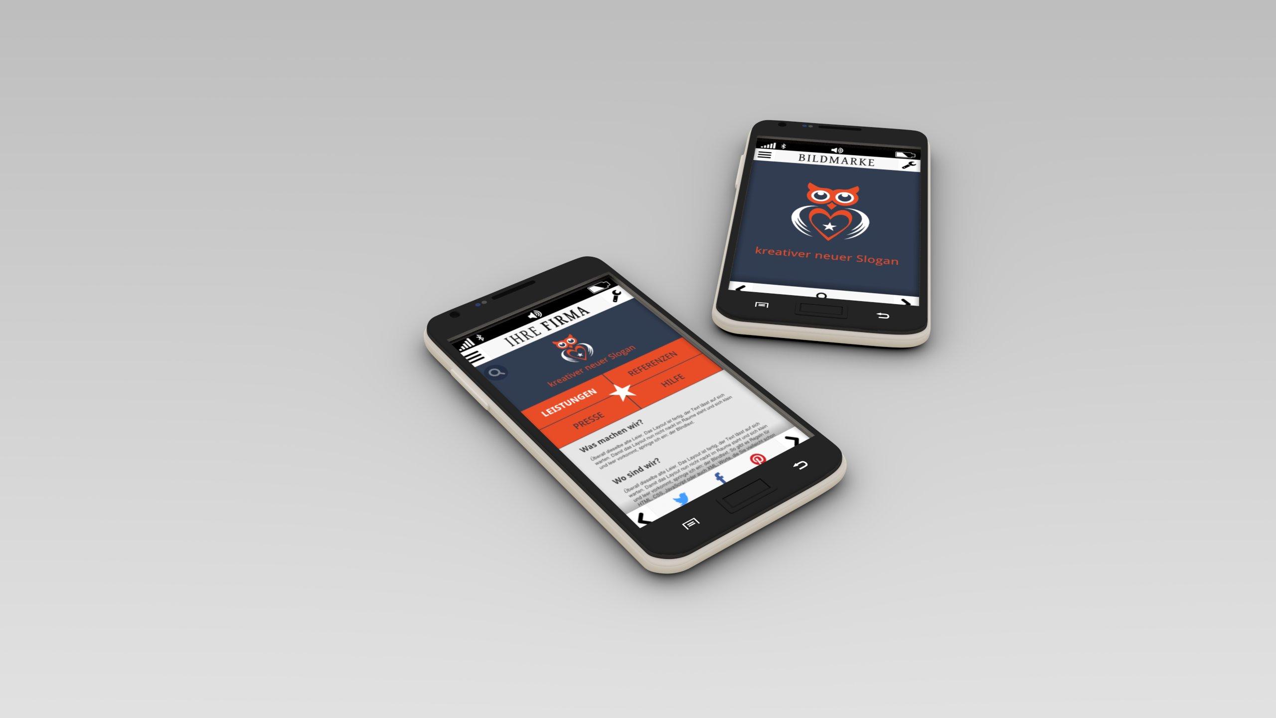 3D-Grafik Blender - Smartphone