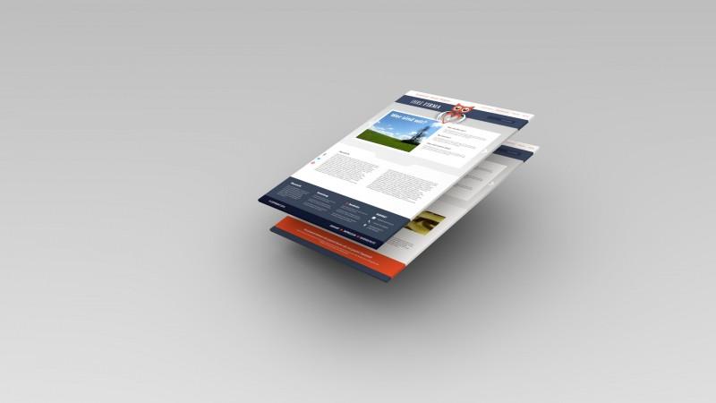 3D-Grafik Blender - Webvisitenkarte
