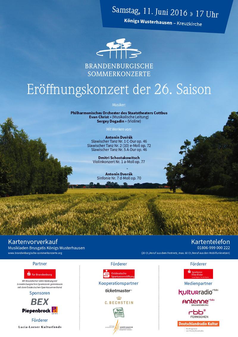 BSK 2016 Plakat A3 – Eröffnungskonzert