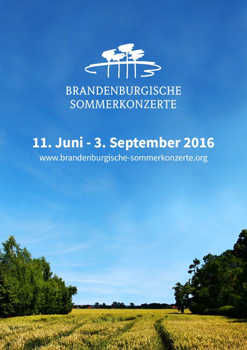 2016 Saisonplakat Brandenburgische Sommerkonzerte