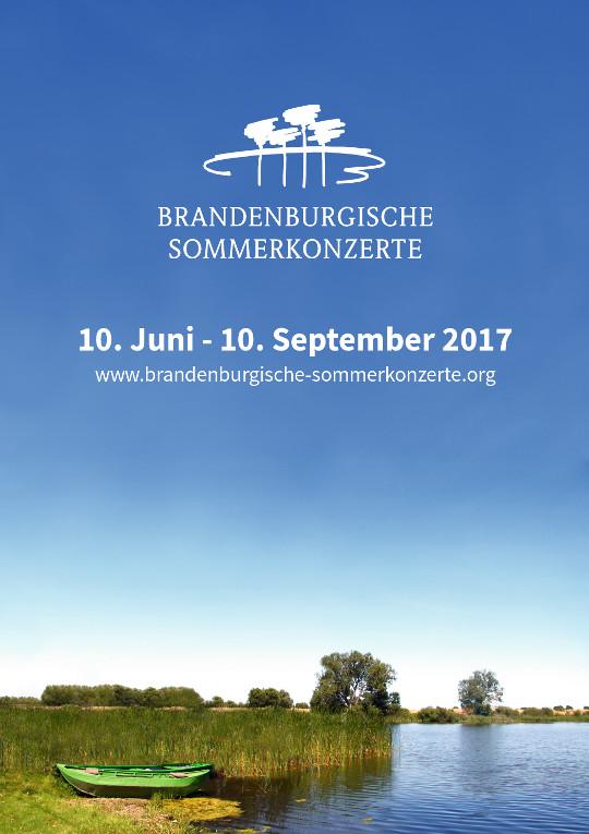 2017 Saisonplakat Brandenburgische Sommerkonzerte
