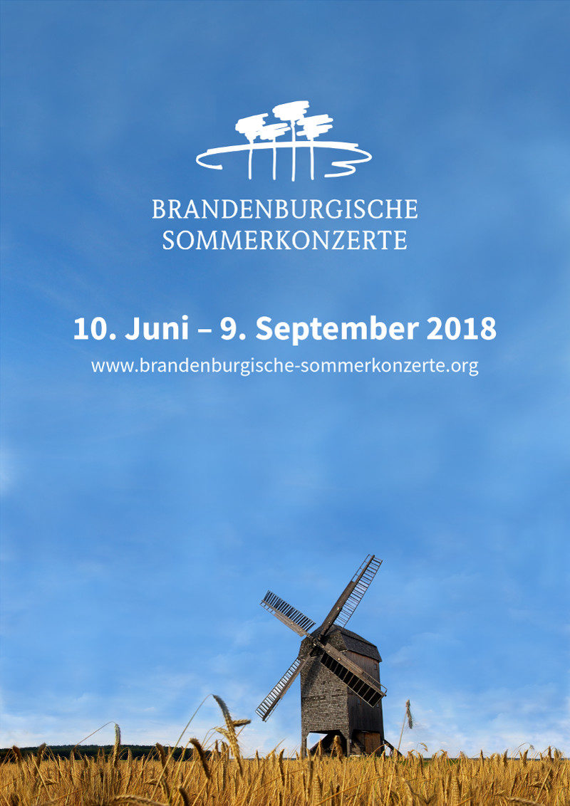 2018 Saisonplakat Brandenburgische Sommerkonzerte