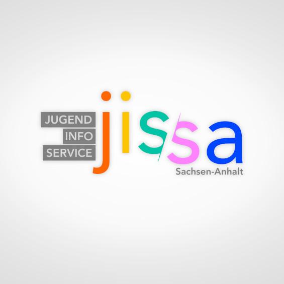 Logo JISSA – JugendInfoService Sachsen-Anhalt